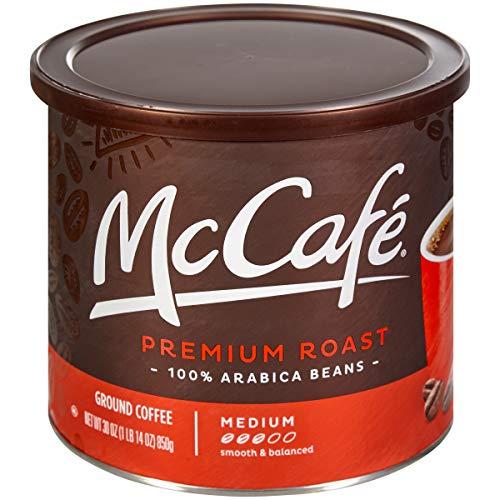 McCafé Premium Roast Ground Coffee, 30 oz Canister