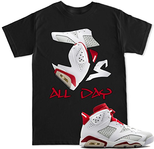 FTD Apparel Mens Js All Day Alternate 6 T Shirt