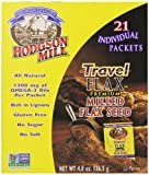 Hodgson Mill Travel Milled Flax Seed, 21 Count (Pack of 6)