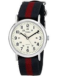 Timex Unisex T2P4699J Weekender Full-Size Analog Display Analog Quartz Black Watch
