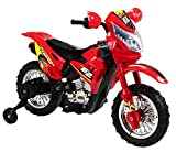 Battery Operated 6V Kids Dirt Bike - Red