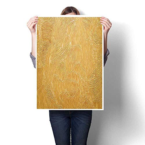 """Canvas Prints Abstract Pictures Background Texture Wallpaper welement of Design Oil Painting,32""""W x 56""""L on Canvas Wall Art for Home Decorations (Frameless)"""