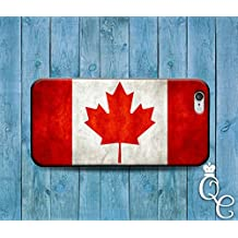 *BoutiqueHouse* iPhone 4 4s 5 5s 5c SE 6 6s plus iPod Touch 4th 5th 6th Gen Red Leaf Canada Canadien Cool National Nation Flag Country Case Phone Cover(Samsung Galaxy Note 5)