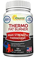 Pure Thermogenic Fat Burner Supplement - 120 Capsules - Max Strength Thermo Weight Loss Pills to Boost Energy & Metabolism & Lower Appetite, Best Fat Burning for Women & Men, Caffeine to Burn Lbs Fast