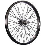 Taylor Wheels 20 pouces BMX roue arrière vélo noir 48 axe traversant noir