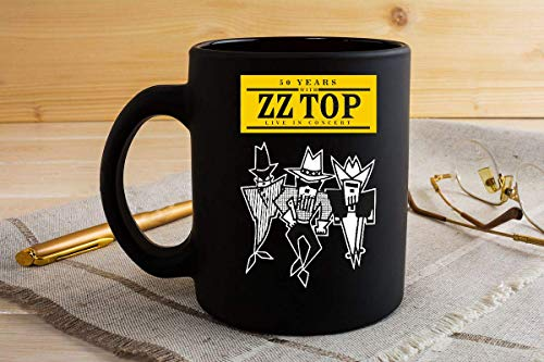 (50 YEARS ZZ TOP CONCERT 2019 4 Mug 11oz)