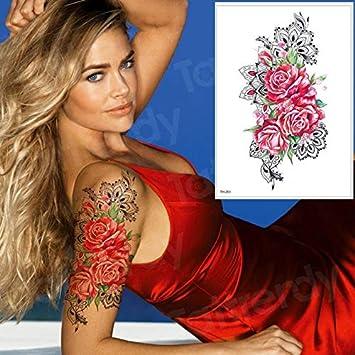 HXMAN 3 Unids Tatuaje Arte Falso Tatuaje Brazo Mar Tatuaje Manga ...