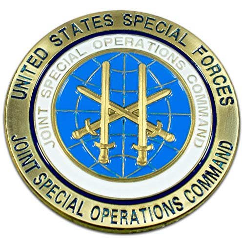 Art Crafter JSOC Joint Special Operations Command Challenge Coin USSOCOM Badge D009J