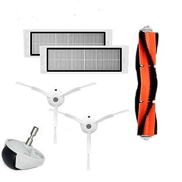 Fcostume - Filtro de Cepillo para XIAOMI MI Robot Vacuum Home Appliance Part, Blanco: Amazon.es: Jardín