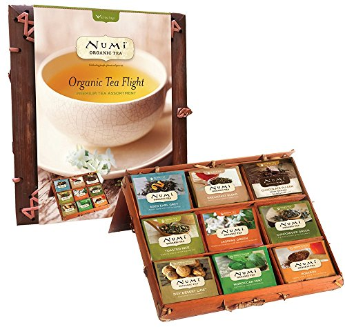 Numi Organic Tea Flight Variety Gift Set, 45 Bags, An Assort