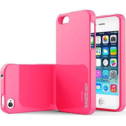 iphone 4s case bumper red - 6