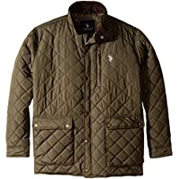 U.S. Polo Assn. Mens Quilted Jacket