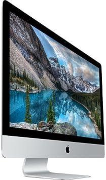 Apple iMac MK482LL / A Pantalla Retina 5K de 27 Pulgadas (Intel Quad-Core i5 3.3GHz, 8GB RAM, 2TB Fusion Drive, Mac OS X), Plateado (Reacondicionado): Amazon.es: Electrónica