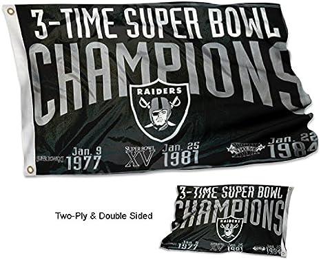 Oakland Raiders Sport Fan Ringe Super Bowl Championship Ringe mit Display Holzkiste Gr/ö/ße 11 GJJ 3 St/ück Europa und Amerika Herrenringe Set