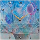 3dRose dpp_11873_1 Wall Clock, Nature in Motion, 10 by 10-Inch