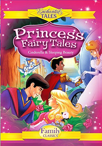 - Princess Fairy Tales (2 Disc Set) - Cinderella, Sleeping Beauty