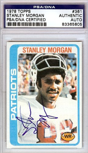 stanley-morgan-autographed-1978-topps-rookie-card-psa-dna-83365805