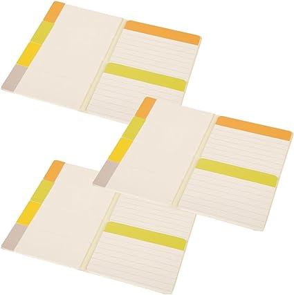 Moleskine tres unidades adhesivo Stick notas diario bolsillo ...