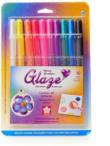 Sakura Gelly Roll Glaze Pens (Assorted) - Set of 10 1 pcs sku# 1831517MA]()