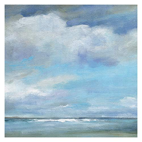 Fine Art canvas Masterpiece Art Gallery Sunset Shadow II Coastal by Carol Robinson Canvas Art Print 35x35