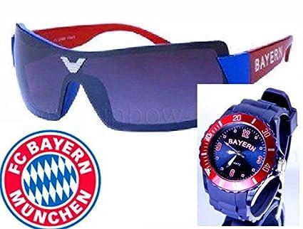 TV DE 24 Bayern Reloj de Pulsera + Bayern Gafas de Sol + FC ...