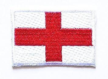 Mini Inglaterra Inglés Reino Unido Bandera Nacional parche bordado parche hierro en coser en emblema parche