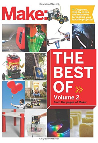 Best of Make: Volume 2: 65 Projects and Skill Builders from the Pages of Make: by MAKER MEDIA