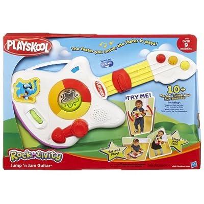 Playskool Rocktivity Jump 'N Jam Guitar Toy: Toys & Games