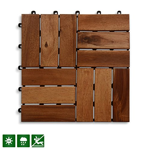 Cheap  Acacia Wood Deck Tiles | Composite Decking, Flooring & Patio Pavers |..