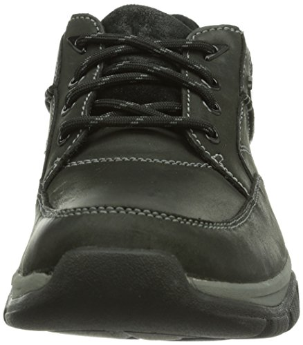 Clarks Rampart Go Gtx - Zapatos de cordones Hombre Black Leather