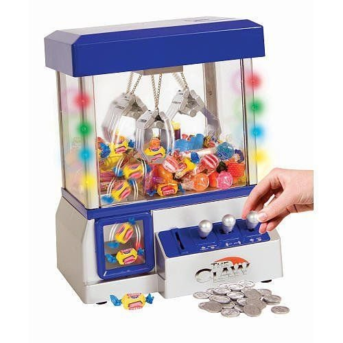 Blue Candy Grabber Claw Game