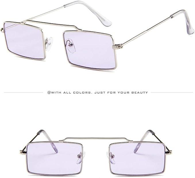 Amazon.com: Gafas de sol unisex con marco pequeño, estilo ...