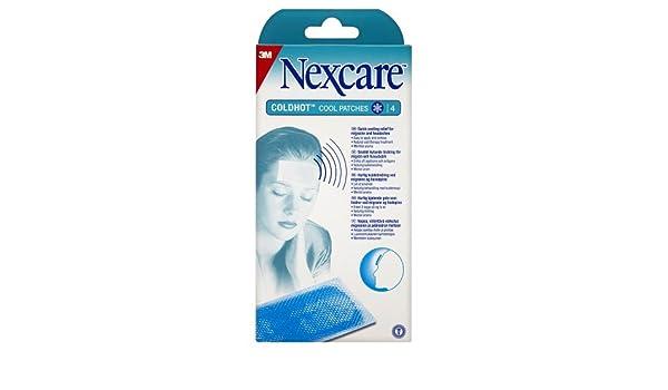 3 M Nexcare coldhot Cool Parches X 4: Amazon.es: Salud y cuidado personal