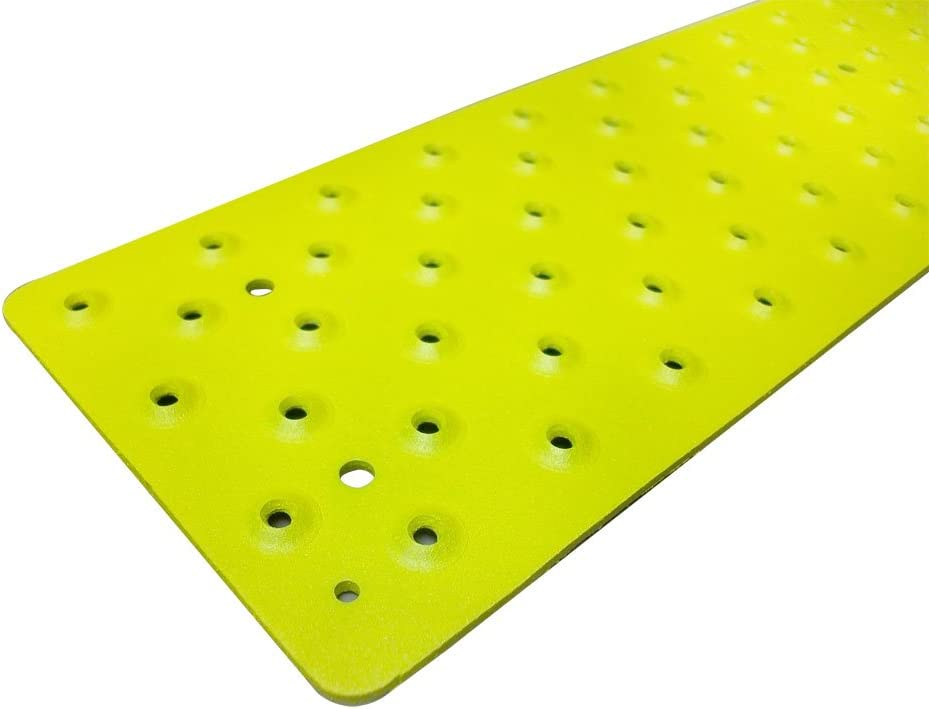 3.75 x 30 with Color Matching Wood Screws Handi-Treads Non Slip Aluminum Stair Tread Each Powder Coated Safety Yellow