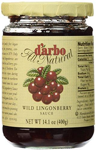 - D'arbo Lingonberries In Jars, 14.1 Ounces