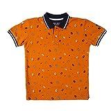Gini & Jony Boys' T-Shirt (121246516571 C355 Persimmon Orange(C355) 4)