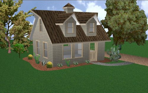 Easy Cabin Designs 16x20 Cabin w/loft Plans Package, for sale  Delivered anywhere in USA