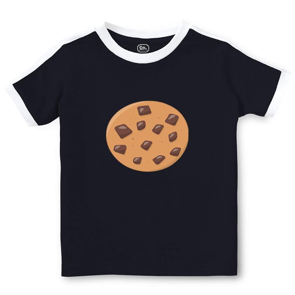 Chocolate Chip Cookie 2 Crewneck Girls Soccer T Shirt 6288