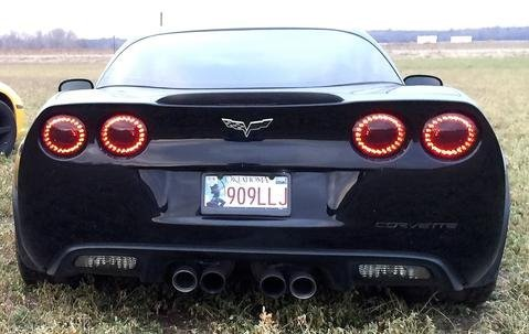 C6 Corvette Eagle Eye LED Halo Tail - Eye Led Eagle Light