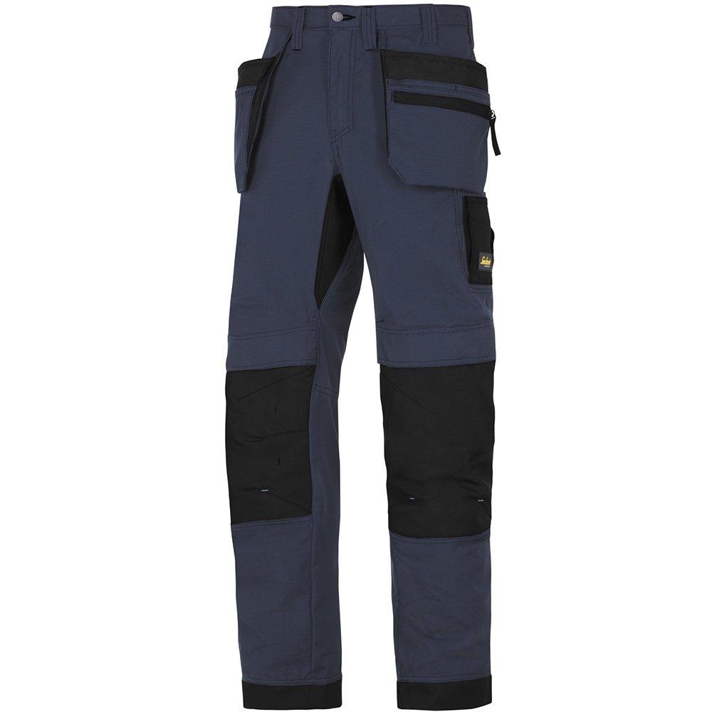 Snickers Workwear 6206 litework, 37.5 Pantalones de trabajo + con bolsillos, azul, 62069504160 37.5Pantalones de trabajo + con bolsillos Hultafors Group AB
