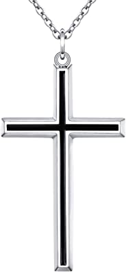 Sterling Silver Antique Etched Cross Pendant Solid 23 41 Pendants /& Charms Jewelry