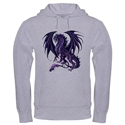 CafePress Ruth Thompson's Draconis Nox Dragon Hooded Sweatsh - Pullover Hoodie, Classic & Comfortable Hooded (Amy Insulated Jacket)