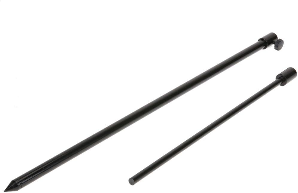 2pcs Adjustable Fishing Bank Stick Extending Bankstick Rod Rest Bite Alarm