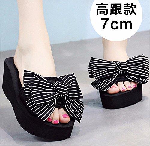 h antideslizante lady playa al SHOES libre moda artesanal de zapatillas casual aire verano cool FLYRCX Pajarita q4SgvxwaaZ