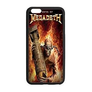 "Onshop Custom Cartoom Megadeth Collage Phone Case Laser Technology for iPhone 6 4.7"""