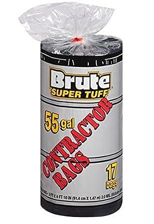 Brute Super Tuff 55 Gallon Contractor Bags