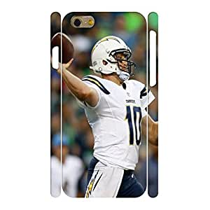 Customized Sports Series Print Football Athlete Action Pattern Hard Plastic Phone Skin for Iphone 6 Case - 4.7 Inch