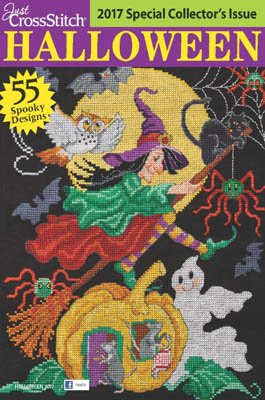 Just CrossStitch Halloween 2017 Magazine and Free -