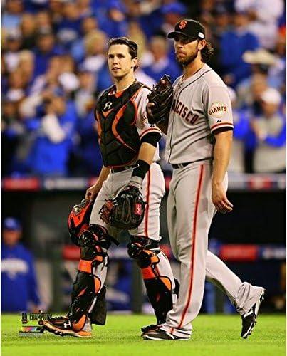 Size: 8 x 10 Buster Posey /& Madison Bumgarner San Francisco Giants 2014 World Series Game 5 Photo