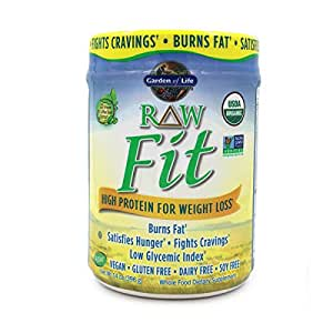 Garden of life raw fit organic greens and protein powder probiotics enzymes vegan for Garden of life raw protein weight loss